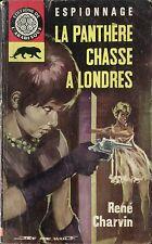 Arabesque Espionnage 292 - René Charvin - La Panthère... - EO 1963 - Jef de Wulf
