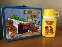 VINTAGE HAIR BEAR BUNCH LUNCHBOX AND THERMOS
