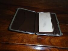 Antique Chester Solid Silver Purse/Aide Memoire with original propelling Pencil.