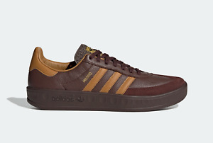 adidas Originals Madrid Vintage Retro Leather Shoes in Brown