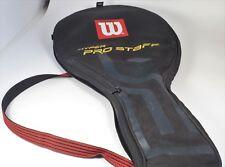 Wilson Hyper Pro Staff Tennis Racquet Cover w/Shoulder Strap - Vg Condition
