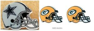 NFL PLANAR RESINS CABOCHONS 4 HAIR BOWS CRAFTS