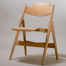 1 (von 8) Klappstuhl SE 18 von Egon Eiermann für Wilde+Spieth Buche Stuhl Neu