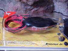 Spro Bronzeye Topwater Frog Sbef60Blkw Jr in Black Widow for Bass/Pike/Pickerel