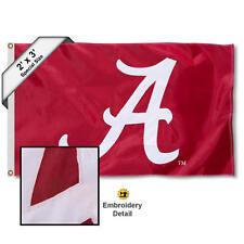 University of Alabama Crimson Tide 2'x3' Nylon Flag
