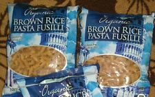 Trader Joe's Organic Brown Rice Pasta Fusilli 2Pack Lot Gluten free Pasta