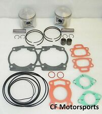WSM 010-817-12 Seadoo 720 +.50mm Top End Rebuild Piston Kit HX SP GTI GS GSI GTS