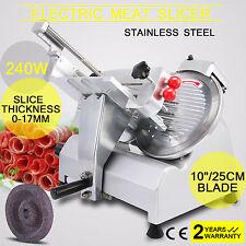 10 Blade Commercial Grade Meat Slicer Electric. Deli Slicer Food Restaurant
