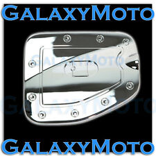 07-15 Toyota Tacoma LONG Truck bed ONLY Triple Chrome Gas Door Trim Bezel Cover