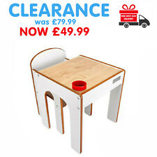 ❤️ SALE SALE Little Helper Childrens Kids Table & Chairs Set White SALE £50 ❤️