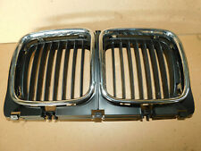 BMW E34 525i 535i NARROW Kidney Grill Frame with Inserts Aftermarket Ref 1973825