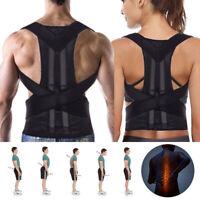 Posture Corrector Shoulder Support Clavicle Brace Belt For Men Women M/L/XL