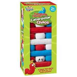 Tumbling Tower Game Caterpillar Chaos Indoor Family Kids Games Blocks Stacking