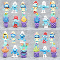 The Smurfs The Lost Village PapaRandom 24PCS Cartoon Action Figure Kids Toy Gift