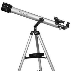 Barska 800X60mm 80060 Starwatcher Refractor Telescope w/ Tripod, AE10752