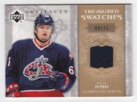 Rick Nash 2006/ 07 UD Artifacts Treasured Swatches #TS-RN Jersey Card #08/25
