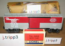 LIONEL #6464-125 NEW YORK PACEMAKER BOXCAR NYC O GAUGE TOY TRAIN POSTWAR REMAKE