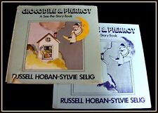 Crocodile & Pierrot Hoban Selig 1975 Illustrated HCDJ Mystifying Counting Book