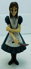 """7"""" 2000 JAPANESE ANIME GIRL WITH APRON HOLDING BLOODY KNIFE ACTION FIGURE"""