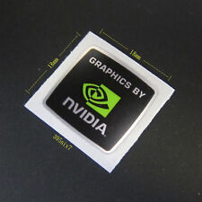 GRAPHICS BY NVIDIA Sticker 18mm x 18mm - New & Genuine