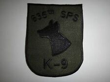 US 635th Security Police Squadron K-9 Unit, Vietnam War Subdued Patch