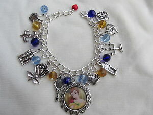BEAUTY AND THE BEAST CHARMS BRACELET - CHILDS SIZE