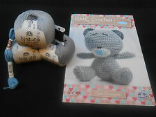 DMC Tatty Teddy Crochet Kit-Ganchillo No Incluido