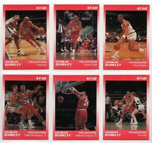 1990 Star 11 Card Set - Charles Barkley - Red Glossy #d/250