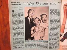 Sept. 12, 1964 Chicago Tribune TV Week Mag(BING CROSBY/FRANK McHUGH/CAROL FAYLEN