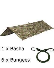 BTP Basha & Bungee Set Cover Sheet Military Army Cadet Alternative Multicam MTP