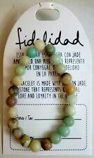 Pulsera  de bolas jade amazónico natural  10mm /Amazon Jade bracelet