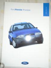 Ford Fiesta Finesse brochure Feb 1999