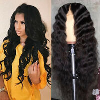 Glueless Pre Plucked Full Lace 8A Brazilian Virgin Human Hair Wigs Wave Full Wig