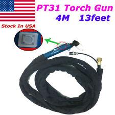 PT31 Plasma Cutting Torch Head Gun Fit CUT40 CUT50 CT312 13feet 4M
