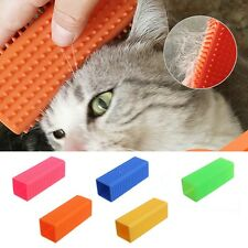Pet Silicone Comb Brush Grooming Tool Dog Cat Hair Shaver Romove Beauty Products