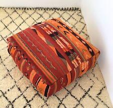 Moroccan Handmade kilim pouf