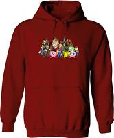 Unisex Pullover Hoodie Sweater Print Super Smash Bros Yoshi Mario Kirby Group