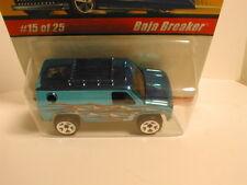 Hotwheels classics series 1  #15  BAJA BREAKER light blue  4x4 van