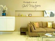 "GOD'S MASTERPIECES Hom Bedroom Vinyl Wall Art Decal 36""y"
