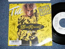 "TIA Japan 1987 WHITE LABEL PROMO NM 7""45 BOY TOY"