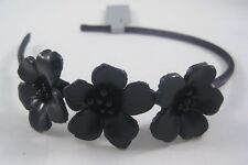Brand New Black Flower Headband Nwt From Target #H2016