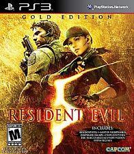 Resident Evil 5: Gold Edition (Playstation 3 PS3) NO MANUAL