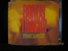 BONUS TRACKS Promo Sampler Techno