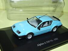 RENAULT ALPINE A310 V6 Bleu Ciel 1981 ELIGOR