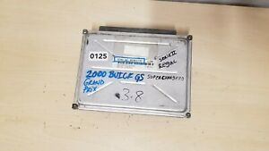 2000 BUICK REGAL 3.8 SUPERCHARGER ENGINE COMPUTER MODULE ECU ECM / 09361735