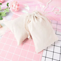 cotton linen storage package drawstring bag travel women small cloth bag s!