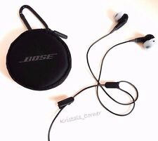 Bose SoundSport In-Ear Headphones & Carrying Case Sweat Resistant Stay Hear Tips