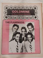 MARCH 1978 GOLDMINE THE RECORD COLLECTOR'S MAGAZINE THE FLAMINGOS