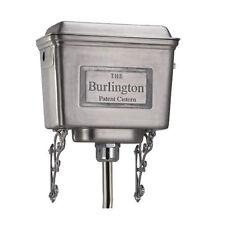 Burlington Traditional Polished Aluminium High Level Cistern T58ALU