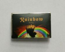 Rainbow Rising Enamel Pin Badge